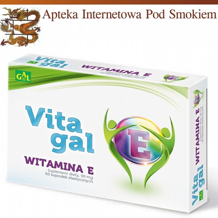 Vitagal Witamina E 60 kaps.