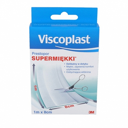 Viscoplast Supermiękki 1 m x 8 cm