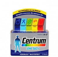 Centrum ON 50+ multiwitamina 30 tabletek