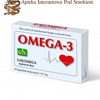 Galomega 517 mg 60 kaps.