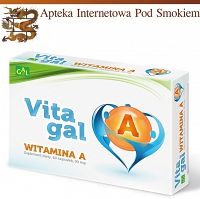 Vitagal Witamina A 60 kaps.