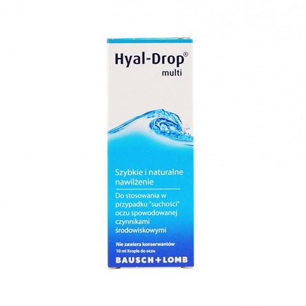 Hyal - Drop multi krople do oczu 10ml