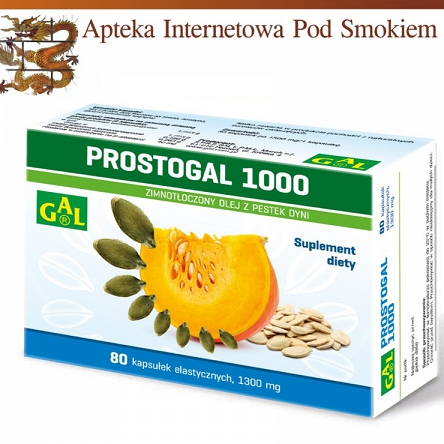 Prostogal 1000 1300 mg 80 kaps.