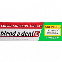 Blend-a-dent neutral klej do protez zębowych 47 g
