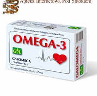 Galomega 517 mg 100 kaps.